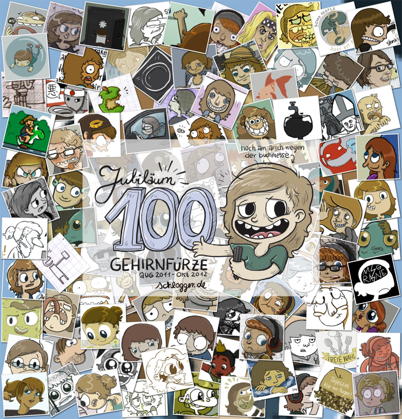 Gehirnfurz 100