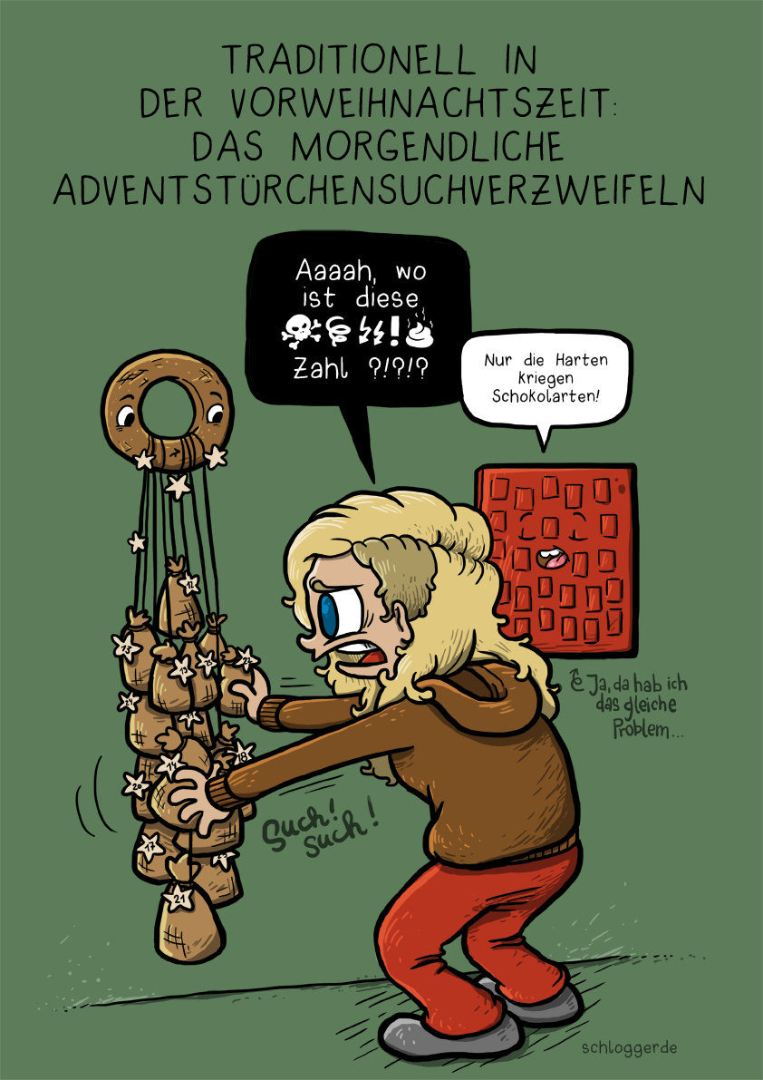 Adventskalenderpanik