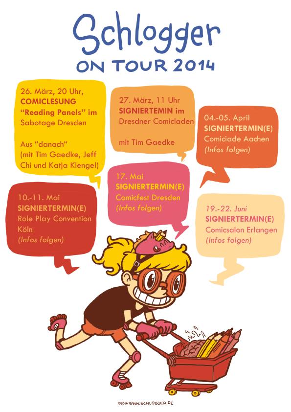 Schlogger on Tour 2014