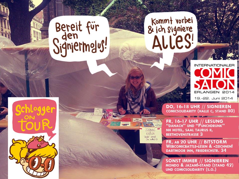 Schlogger Comicsalon Erlangen 2014