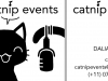 Catnip Events Visitenkarten Design