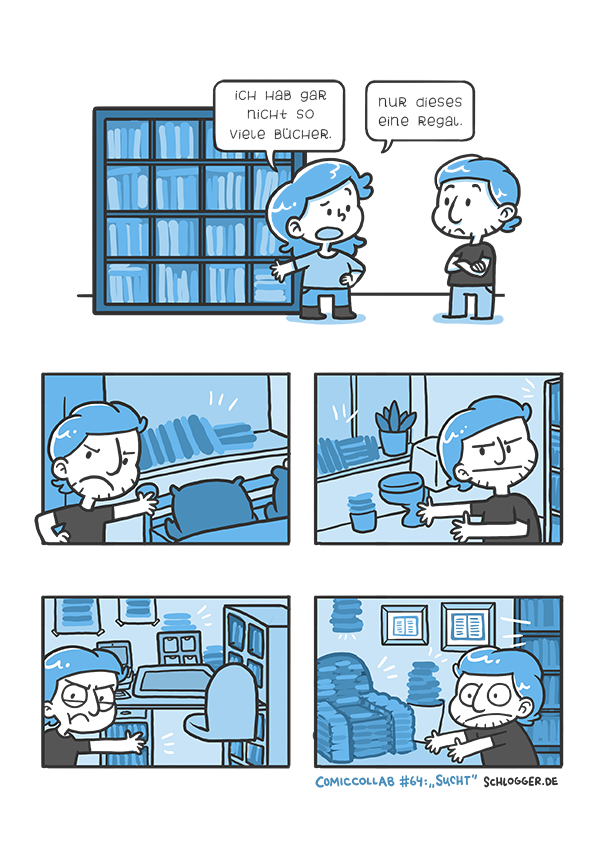 Comic-Collab #64: Sucht