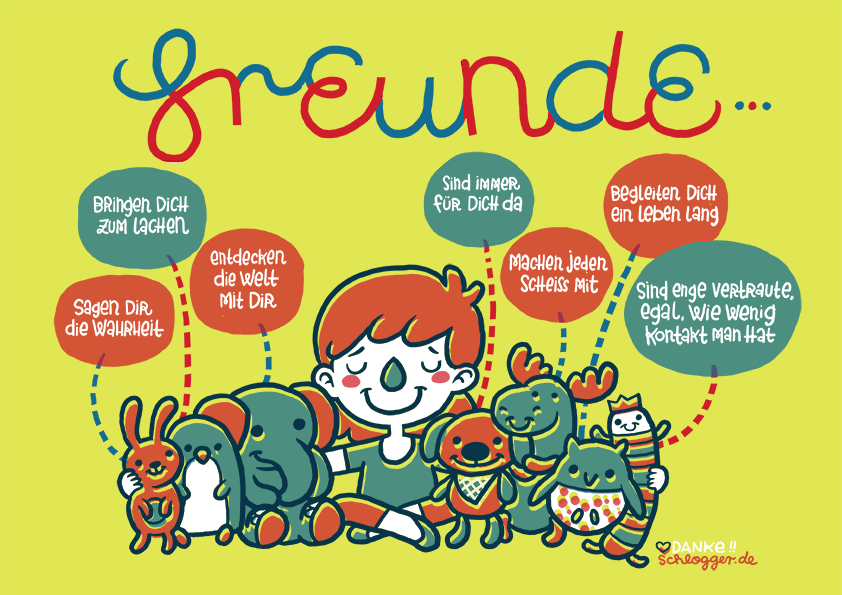 Comic-Collab #36: Freunde