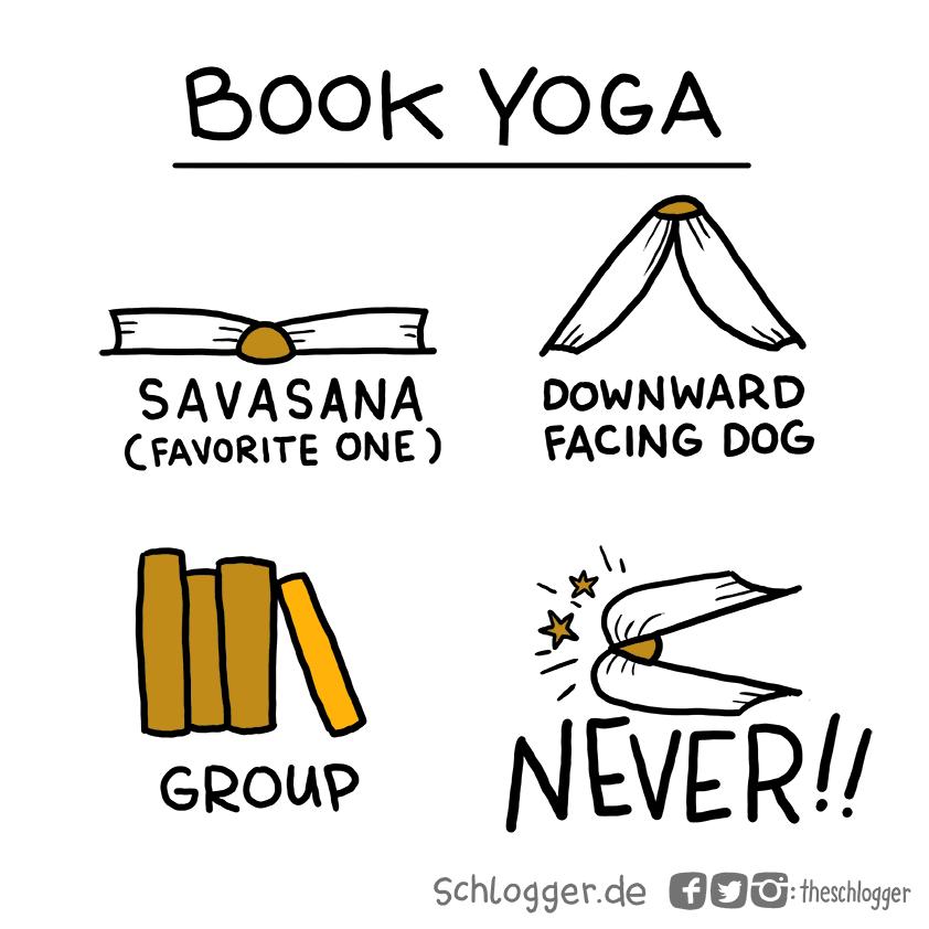 Gehirnfurz #220: Book Yoga