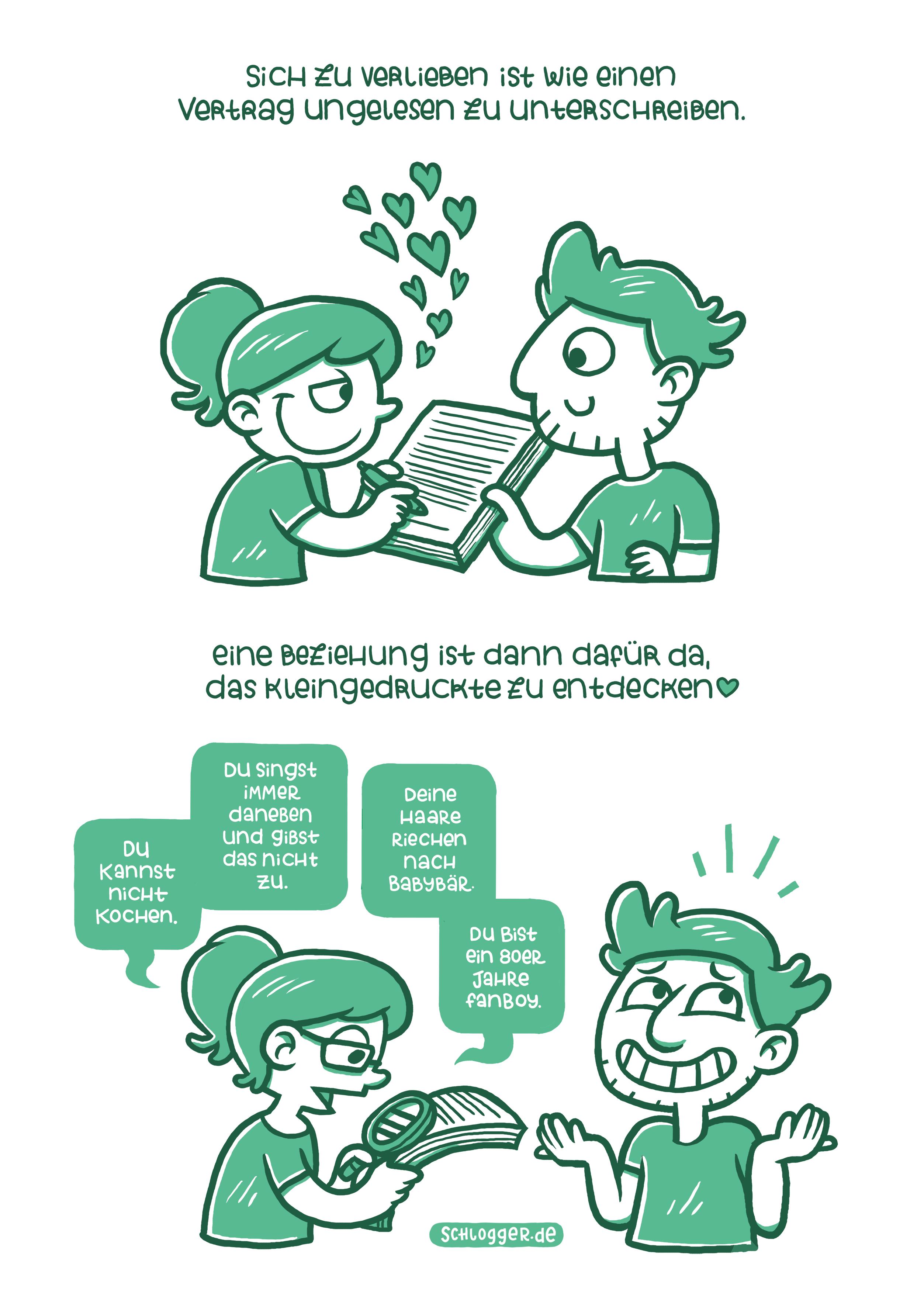Gehirnfurz #190: Liebesvertrag