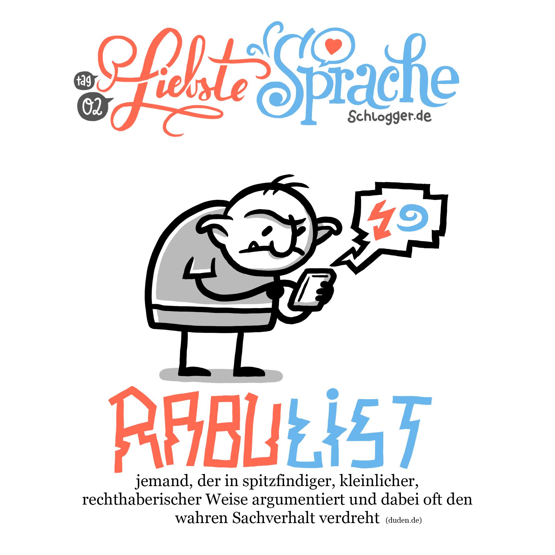 """Liebste Sprache - #02 """"Rabulist"""""""