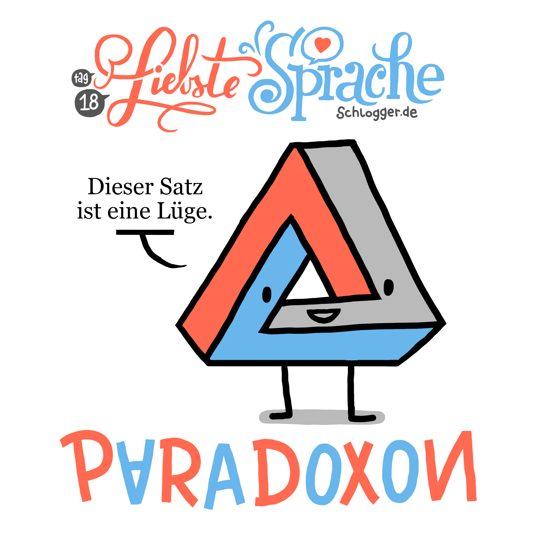 """Liebste Sprache - #17 """"Paradoxon"""""""