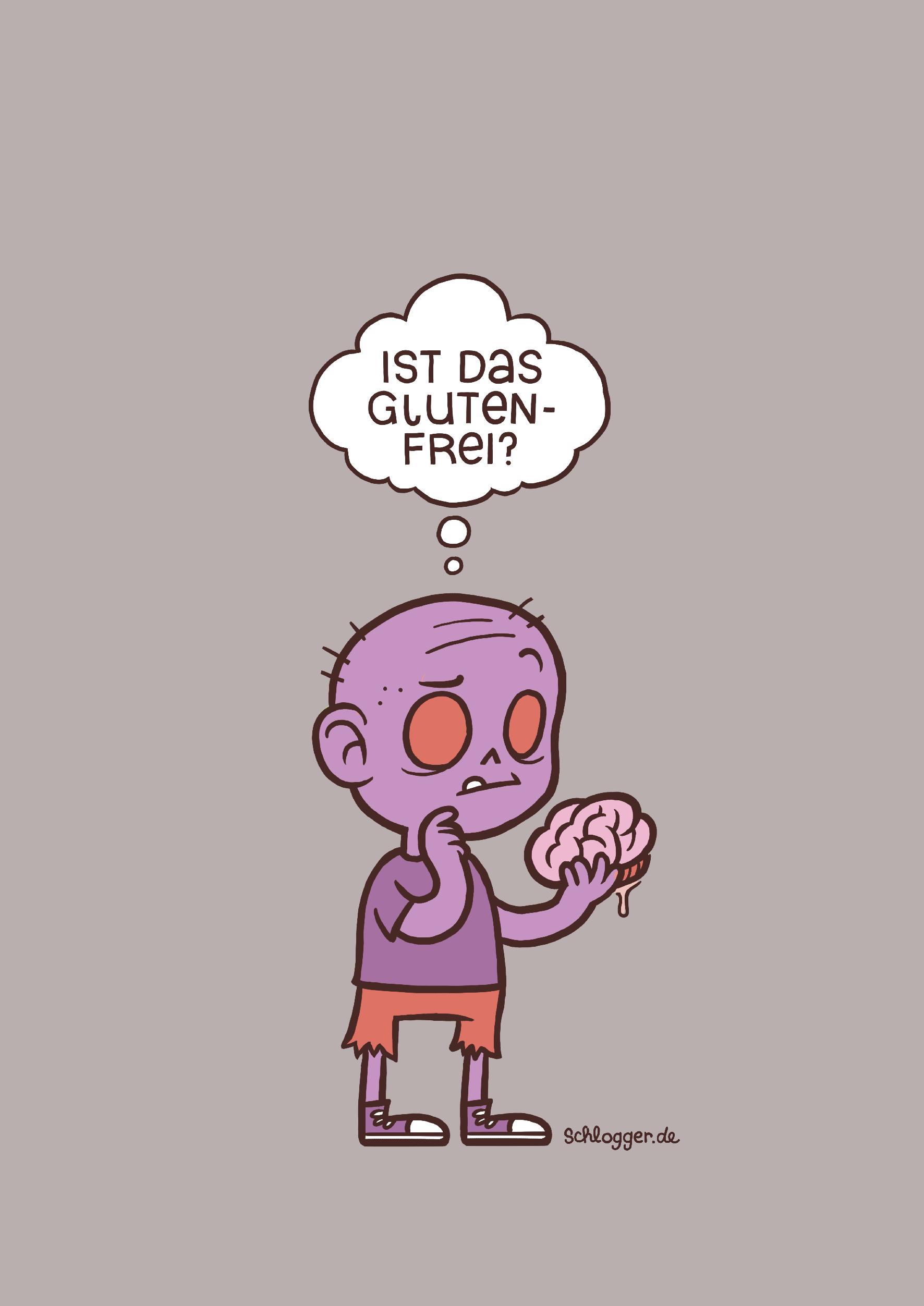 Glutenfreier Zombie
