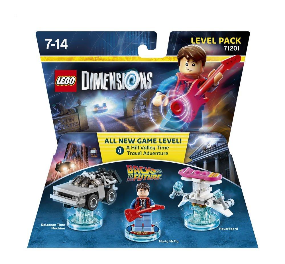 Lego Dimensions Marty McFly