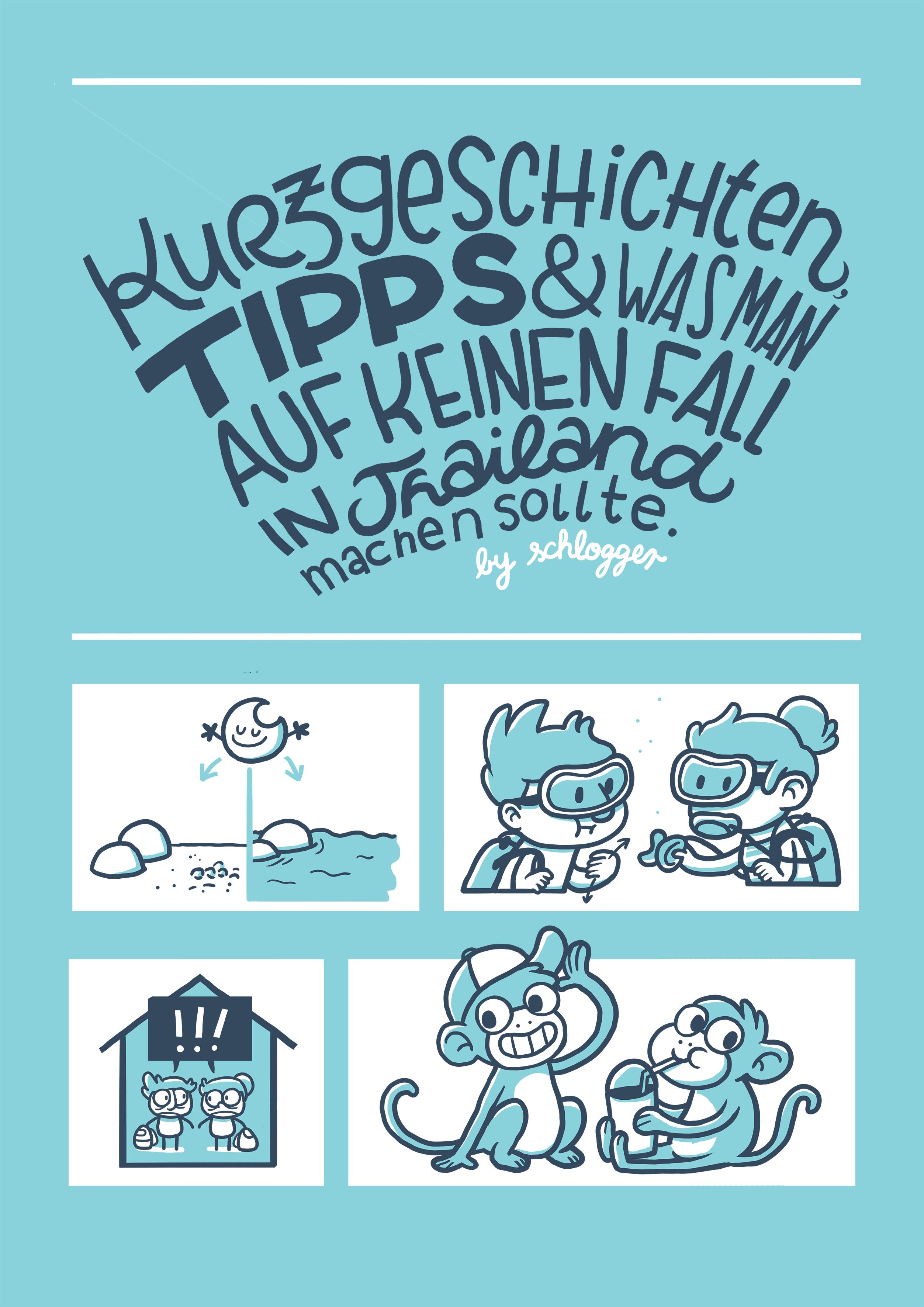 Thailan Comicreisebericht