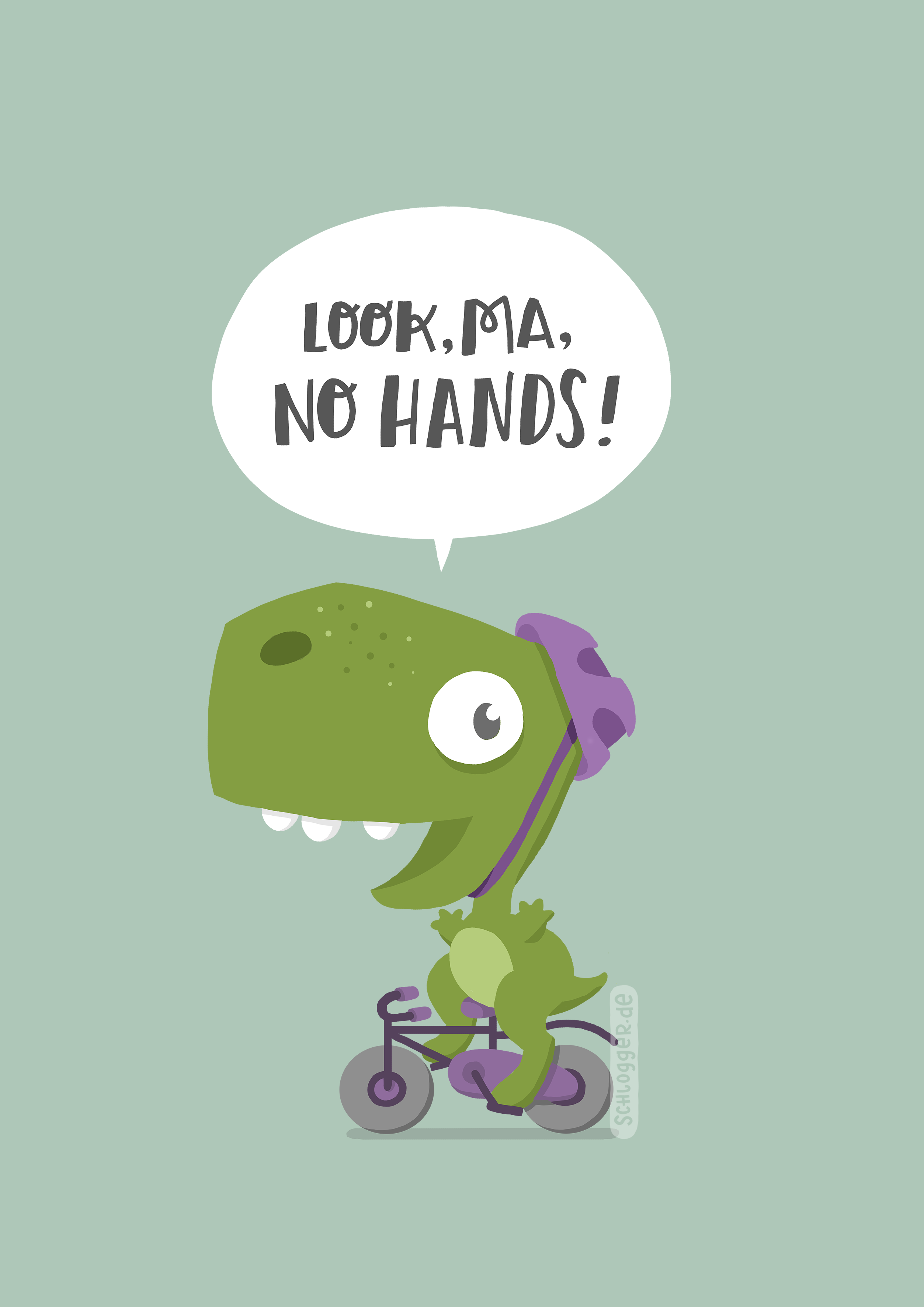Dinos first bike