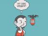 Veganer Vampir